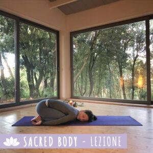 Sacred Body Lezione