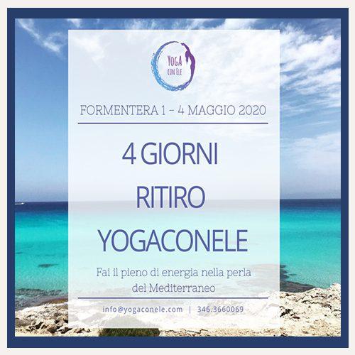 ritiro yoga Fomentera maggio2020