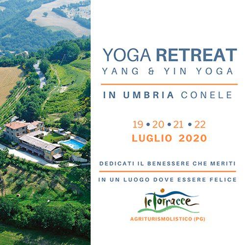 yoga retreat yang yin yoga in Umbria Assisi