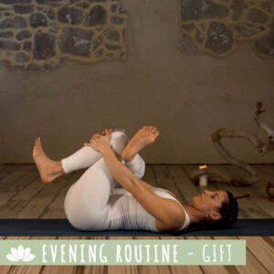 Evening Routine Yoga della sera